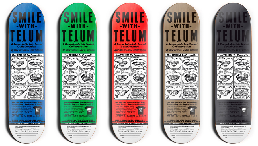 telum x smile boards