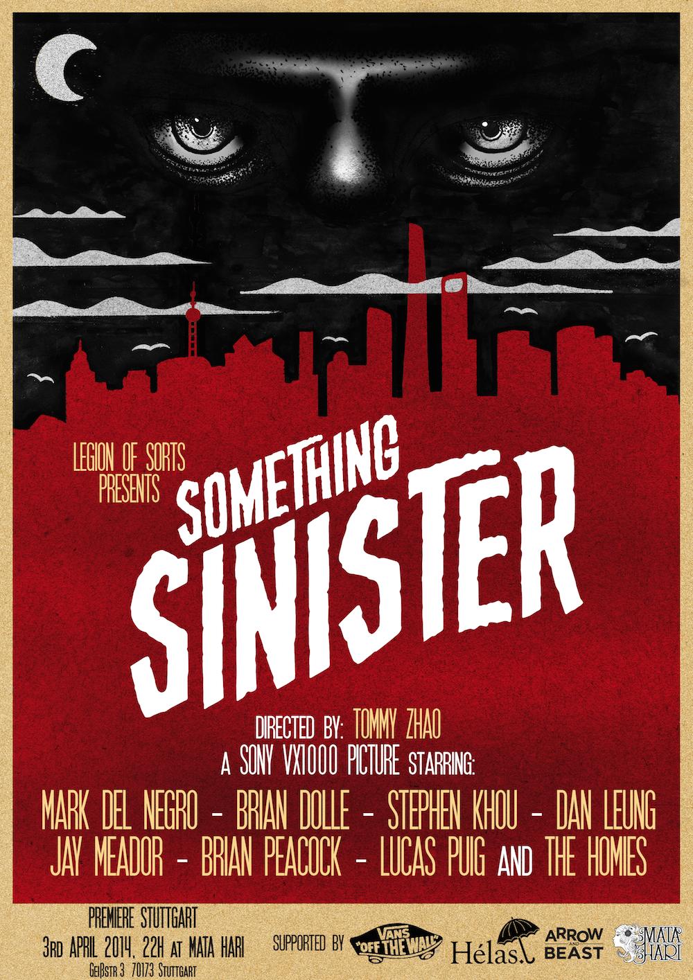 Something Sinister Stuttgart Videopremiere II